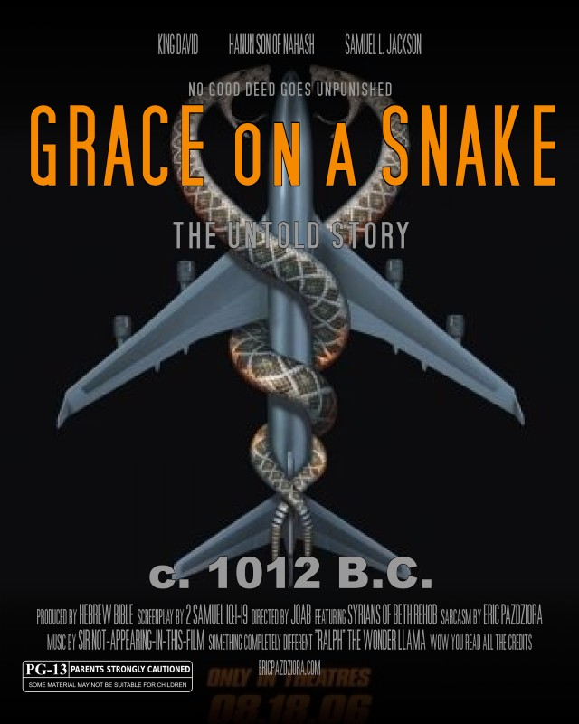 Grace on a Snake poster 2