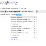 Google Scribe SEO