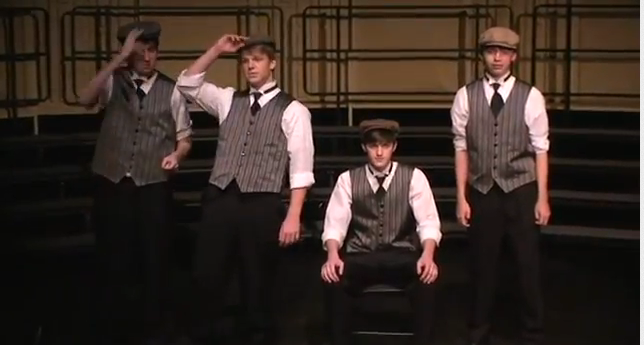 """Mick McGuire"" Performed by Gents in Remarkable Hats (TTBB)"