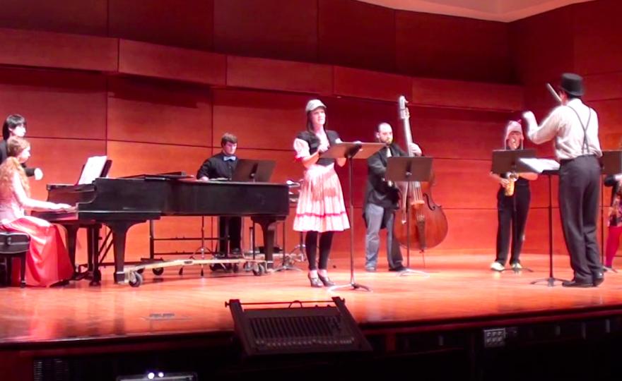 Doctor Milliner's Marvellous Musical Flying Machine (Soprano + Ensemble + Noisemakers)